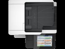 LaserJet Enterprise Flow MFP M527, Aerial/Top, no output