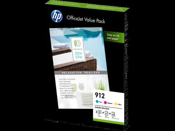 HP OfficeJet Value Pack 6JR41AE, 5190-2445 3D