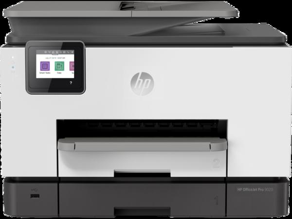 HP OfficeJet Pro 9020, Front