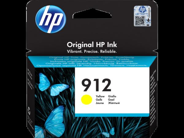 HP 912 Yellow Ink Cartridge BGX - EMEA