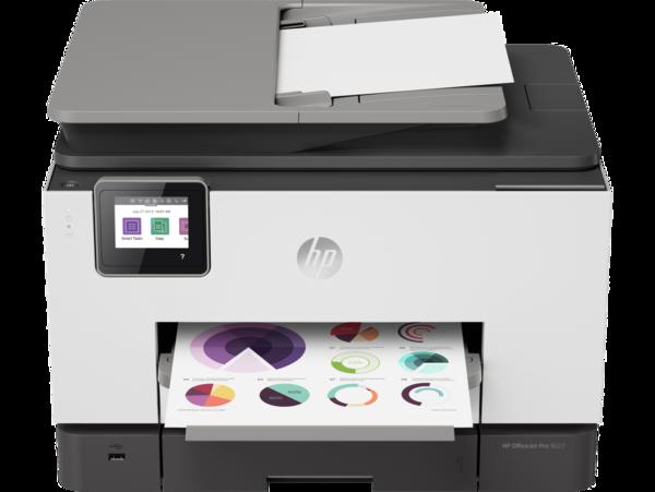 HP OfficeJet Pro 9022, Front