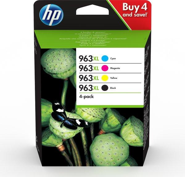 HP 963XL 4-pack CMYK Original Ink Cartridge - EMEA