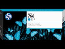 HP 766 300-ml Cyan DesignJet Ink Cartridge