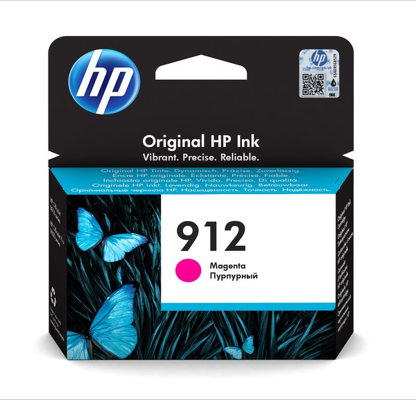 HP 912 Magenta Ink Cartridge BGX - EMEA