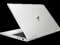 HP EliteBook x360 830 G8 (13, Natural Silver, nonODD, FPR) Rear Left Facing