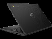 HP Chromebook 11 G9 EE (11, Jet Black / Harbor Grey, nonODD, nonFPR) Rear Left