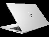 HP EliteBook 840 G8 (14, Natural Silver, WLAN, ALS-SKU, FPR, nonODD) RearLeft