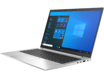 HP EliteBook 840 G8 (14, Natural Silver, WLAN, ALS-SKU, NT, HPcam, FPR, nonODD, Win10) FrontLeft