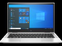 HP EliteBook x360 830 G8 (13, Natural Silver, T, HDcam, nonODD, FPR, Win10) Front View