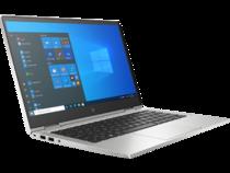 HP EliteBook x360 830 G8 (13, Natural Silver, T, HDcam, nonODD, FPR, Win10) Front Right Facing
