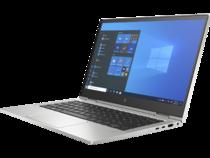HP EliteBook x360 830 G8 (13, Natural Silver, T, HDcam, nonODD, FPR, Win10) Front Left Facing
