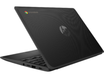 HP Chromebook 11MK G9 EE (11, Jet Black / Harbor Grey, nonODD, nonFPR) Rear Left
