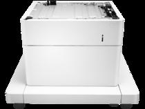 HP LaserJet 1x550-sheet paper feeder with cabinet