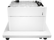 HP Color LaserJet 550-sheet Paper Feeder with Stand