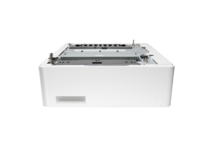 HP Color LaserJet Pro M452dn, 550 sheet accessory tray, center view